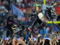 Coldplay anota su 'touchdown' en el Super Bowl 50